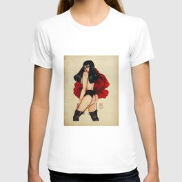 Pin Up Pinny Poppy T-shirt
