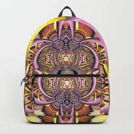 Artistic adventures, fractal abstract Backpack