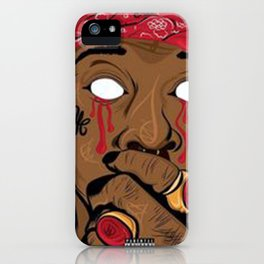 PRINT ILLUSTRATION YOUNG THUG iPhone Case