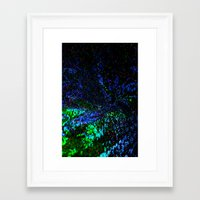 outer space Framed Art Prints featuring Outer Space by Reinhard Matthäus