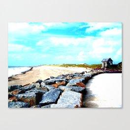 Normandy Beaches  Canvas Print