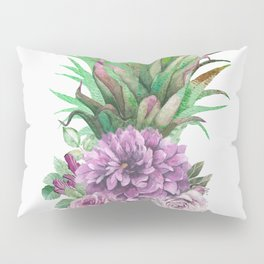 Floral Pineapple 1 Pillow Sham