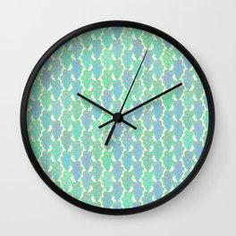 An Ocean of Hearts Wall Clock