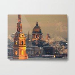 St. Petersburg leningrad Metal Print