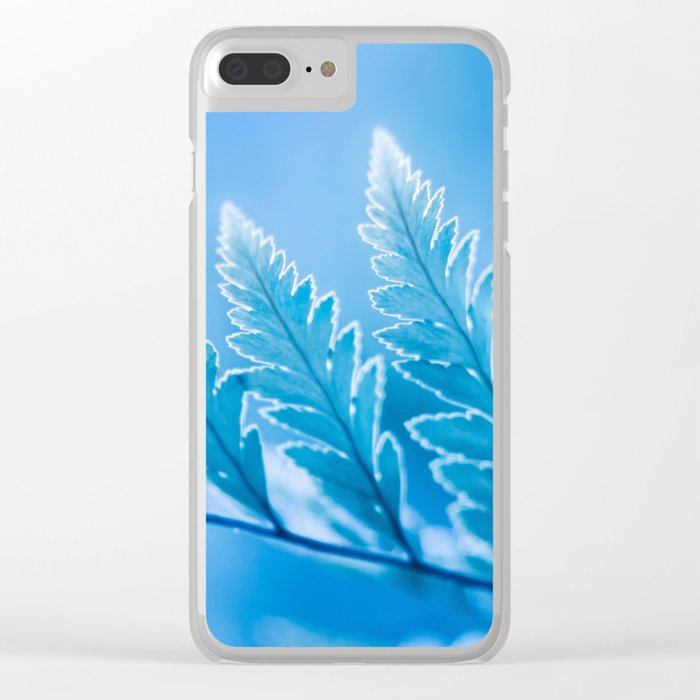 Winter Trees Clear iPhone Case