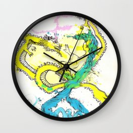 Dragon Whisperer Wall Clock