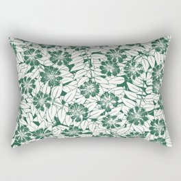 Foliage green Rectangular Pillow