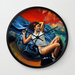 Yann Wall Clock