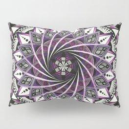 Sahasrara. Crown chakra mandala Pillow Sham