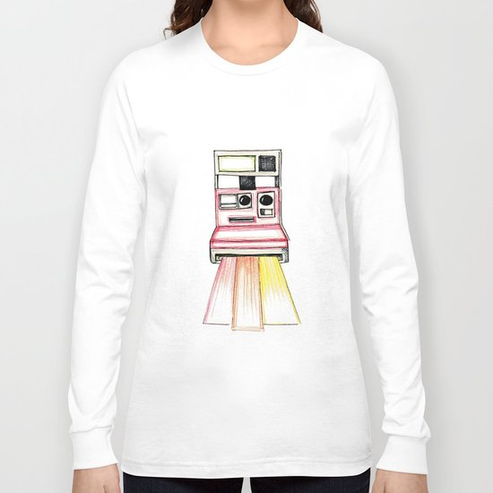 Polaroid Long Sleeve T-shirt