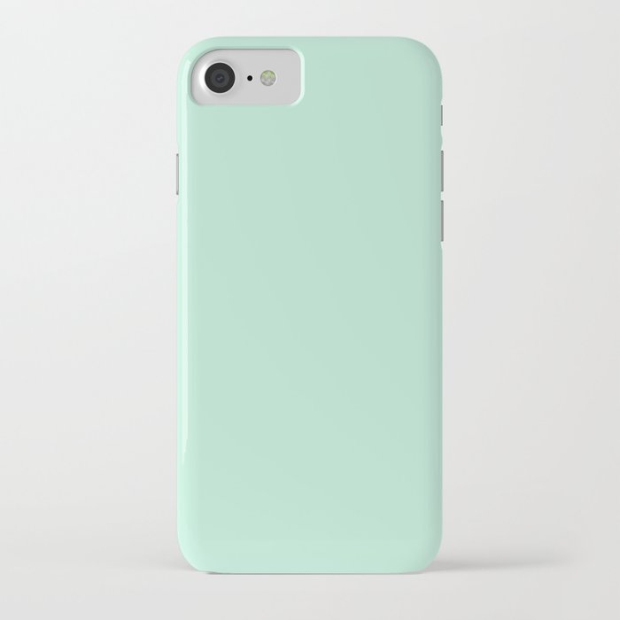 Mint Green iPhone Case