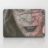 no face iPad Cases featuring Face  by Kate Allison