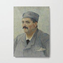 Portrait of Etienne-Lucien Martin Metal Print
