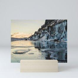 Snaefellsnes peninsula in winter, Iceland Mini Art Print