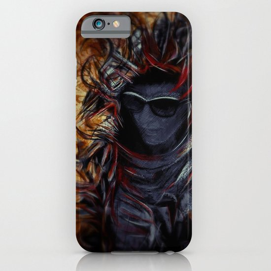 Franja e Chamas iPhone & iPod Case