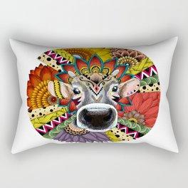 TRIBAL COW Rectangular Pillow