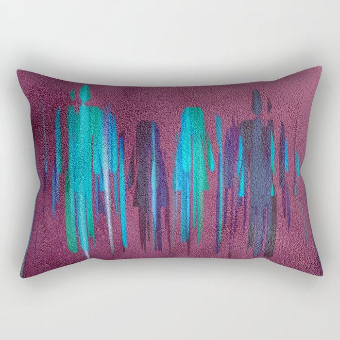 relationships Rectangular Pillow