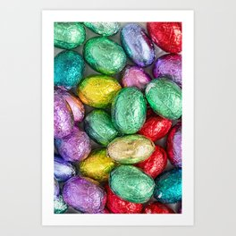 Easter Eggs II Art Print