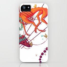Floral Phantom iPhone Case