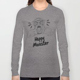 Happy Monster Long Sleeve T-shirt