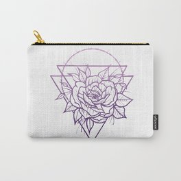 Crown Of Thorns - Pink Palette Carry-All Pouch
