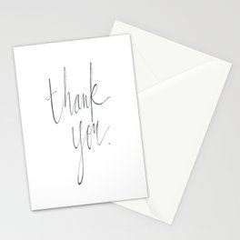 """""""Thank You"""" Stationery Cards"""