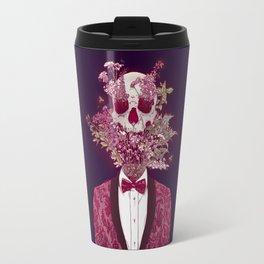 Skull Blossom Travel Mug