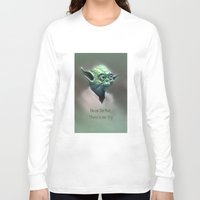 yoda Long Sleeve T-shirts featuring Yoda by Big Tortoise Art (Art by JasonKoelliker)
