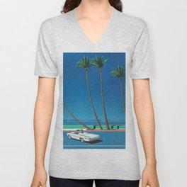 Hiroshi Nagai Vaporwave Shirt Unisex V-Neck