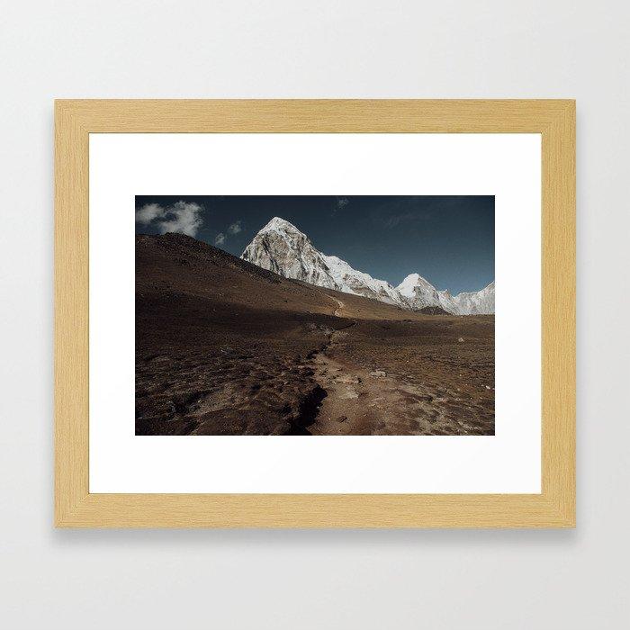 Kalapathar Framed Art Print