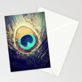Scott Hannum - Peacock Feather Stationery Cards