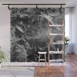 Enigmatic Black Marble #1 #decor #art #society6 Wall Mural