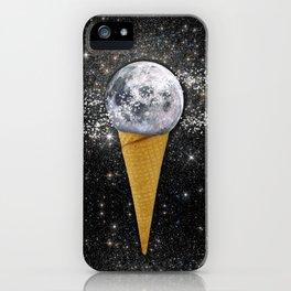 MOON ICE CREAM iPhone Case