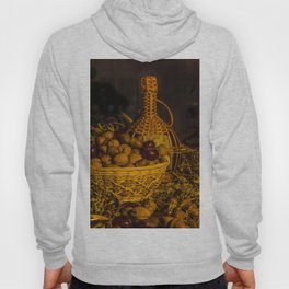 Still-life with nuts and wine Hoody