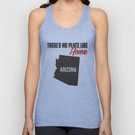 No place like home - Arizona Unisex Tank Top