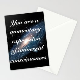 Momentary Expression of Universal Consciousness Stationery Cards