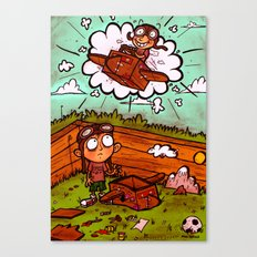Some Day I'll Fly Canvas Print