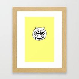 Goofball Devil Framed Art Print