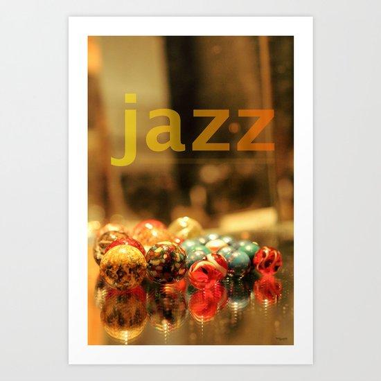 Jazz ! Art Print