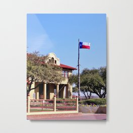 Historic Stock Yards Metal Print