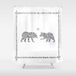 Bears by Love Rocks Me Shower Curtain