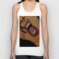 scream Tank Tops featuring Scream by KNIfe