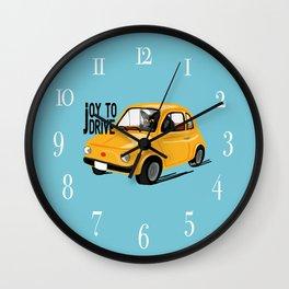 Joy to drive Wall Clock