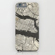 New York - Ink lines Slim Case iPhone 6