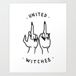 United Witches Art Print