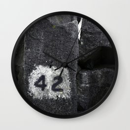 42 Wall Clock
