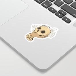 to sleep Sticker