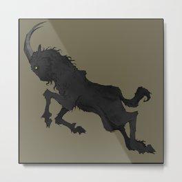 The Goat Metal Print
