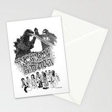 Godzilla .vs. King Kong Stationery Cards
