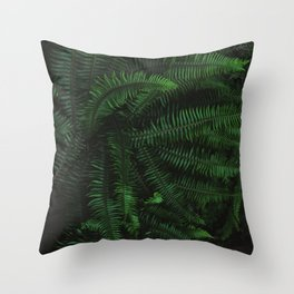 Fern Life Throw Pillow
